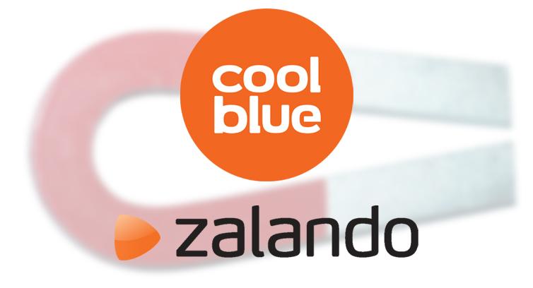 Coolblue en Zalando hebben grote aantrekkingskracht