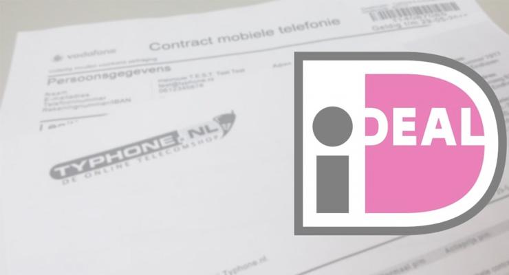 Typhone.nl maakt contract ondertekenen met iDeal mogelijk