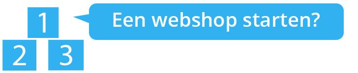 Wij helpen je met het starten van een webshop