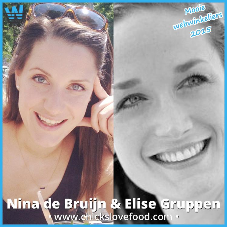 Nina de Bruijn en Elise Gruppen