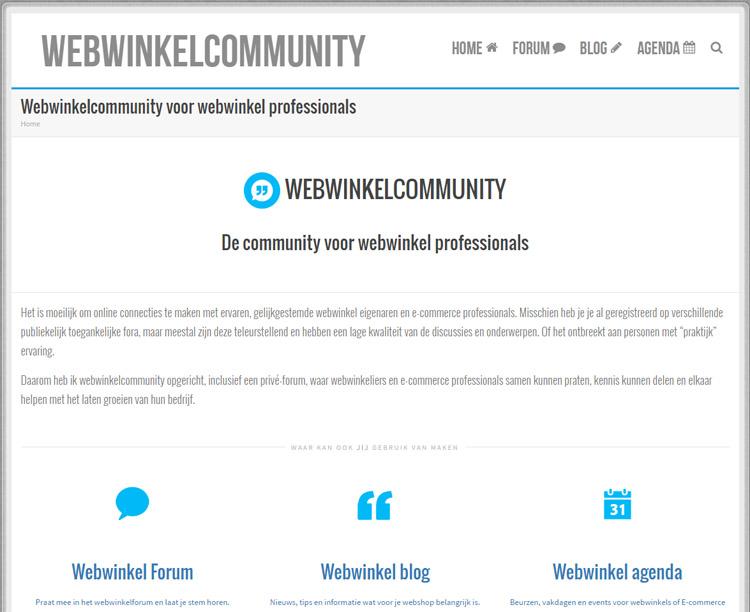 WebWinkelCommunity