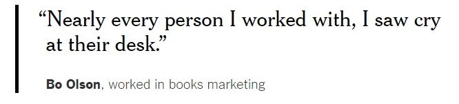Arbeidsvoorwaarden Amazon