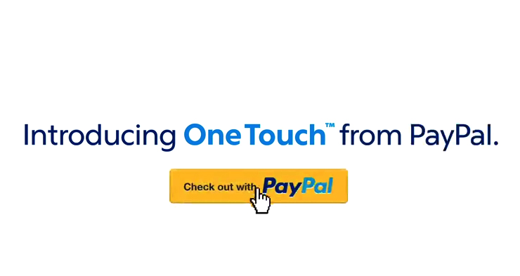 PayPal One Touch nu ook in Nederland