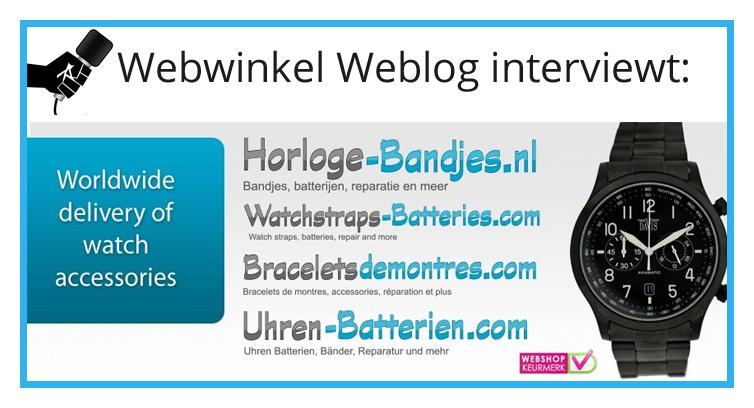 Horloge-Bandjes.nl: 'Je moet het gewoon doen'