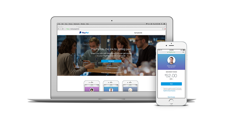 PayPal lanceert p2p-betaaldienst PayPal.Me