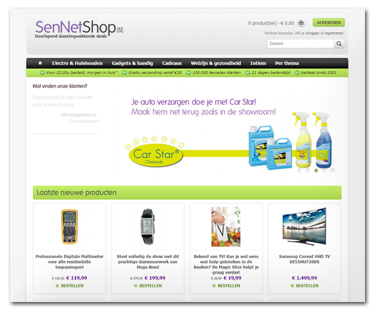 SenNetShop.be
