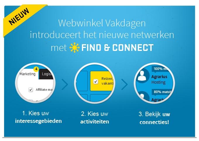 Webwinkel Vakdagen - Find & Connect