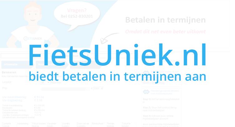 FietsUniek.nl draait 'AfterPay-pilot' met gespreid betalen