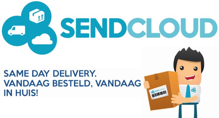 Same day delivery van Sendcloud