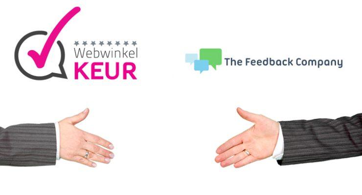 WebwinkelKeur en The Feedback Company gaan samenwerken
