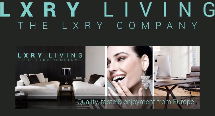 Lxryliving.com, een webwinkel voor de rijken