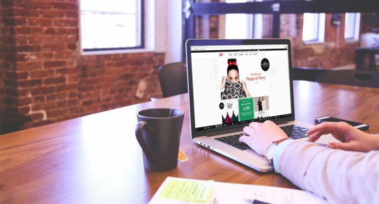 Online shoppen op het werk