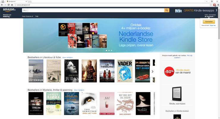 Amazon carrousel