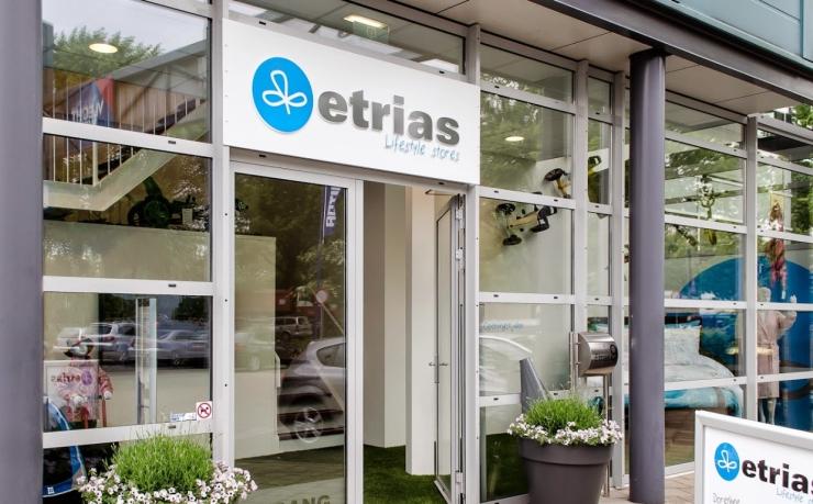 De Etrias-showroom in Vught.