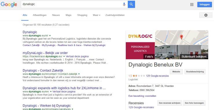 Slechte ervaringen met Dynalogic
