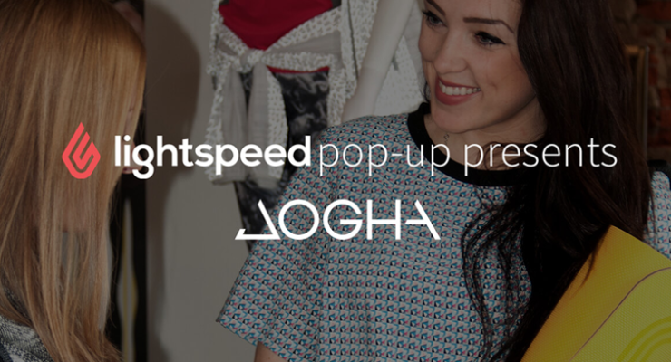 Lightspeed start met pop-upstore