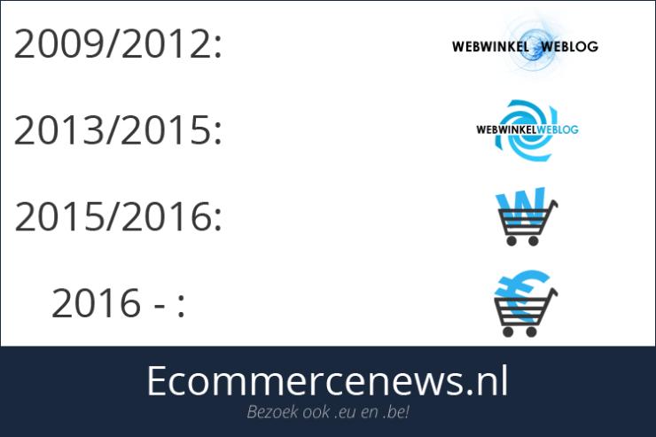 Webwinkel Weblog - De logo's door de jaren heen