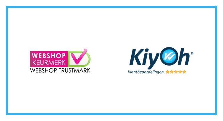 Kiyoh-klantbeoordelingen gratis voor leden Webshop Keurmerk