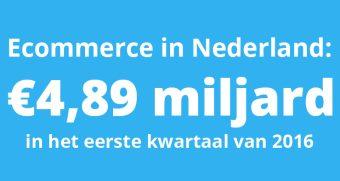 Ecommerce in Nederland Q1 2016