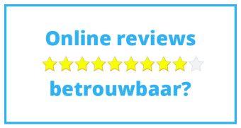 Betrouwbaarheid van online reviews