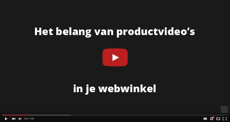 Productvideo's worden steeds belangrijker
