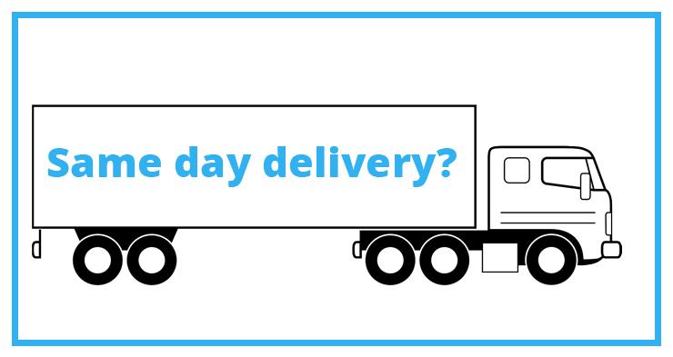 Hoe snel leveren webwinkels vandaag?