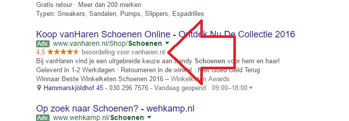 Google vervijfvoudigt de benodigde reviews bij Google AdWords