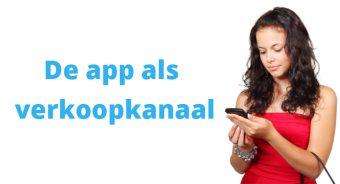 De app als verkoopkanaal