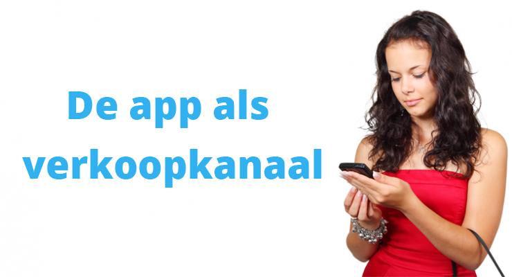 Apps zijn meest effectieve shoppingkanaal