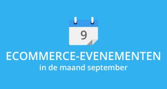 Ecommerce-evenementen in september