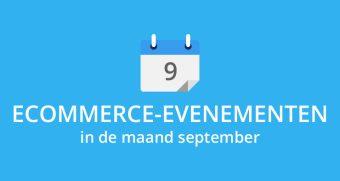 Ecommerce-evenementen in september
