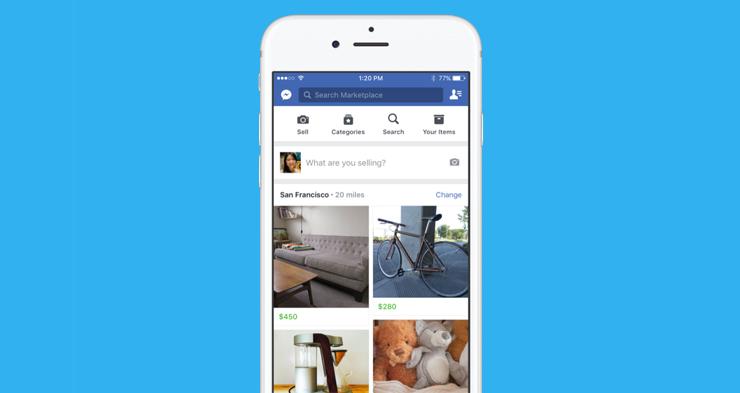Facebook gaat concurreren met Marktplaats