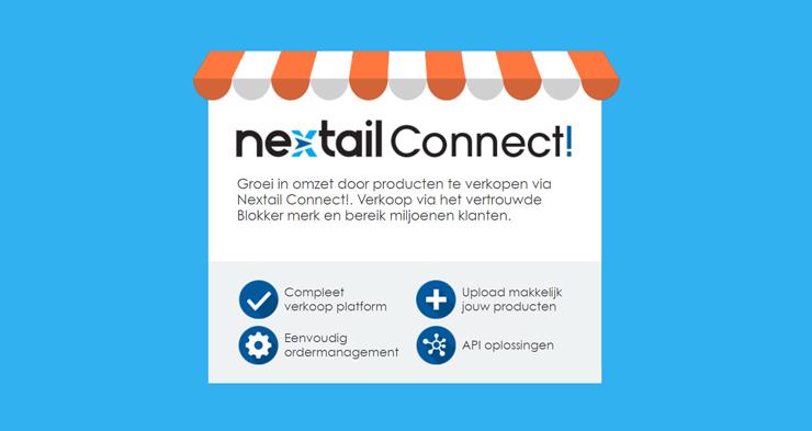 Blokker Holding opent marktplaats Nextail Connect