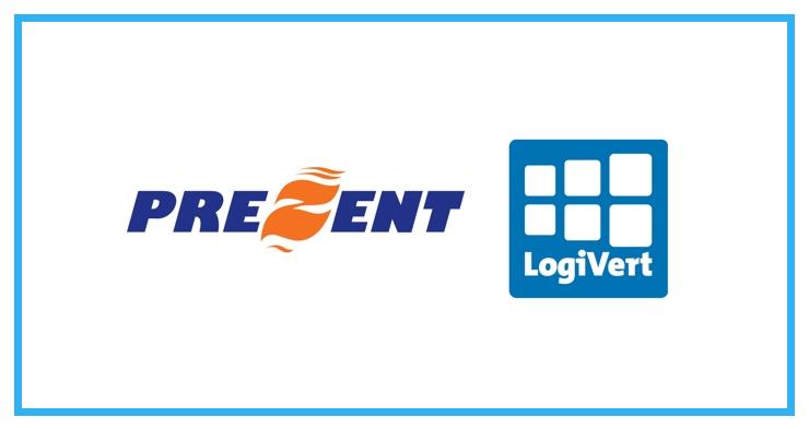 LogiVert gaat op in Prezent Internet