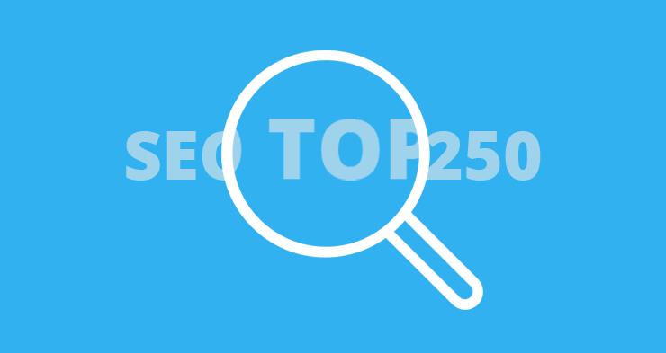 De SEO-top 250 webwinkels van 2016