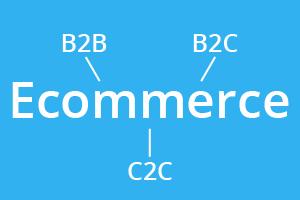 B2B, B2C en C2C ecommerce