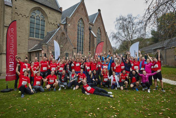 De deelnemers van Ecommercerun 2018.