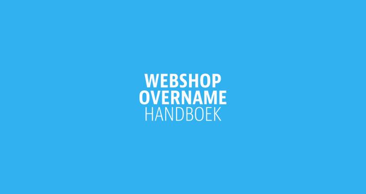 Webshopovername Handboek gepresenteerd