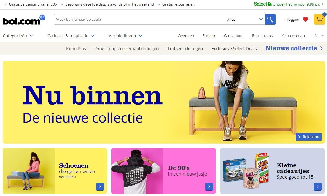 99747332090967 Bol.com start verkoop van schoenen