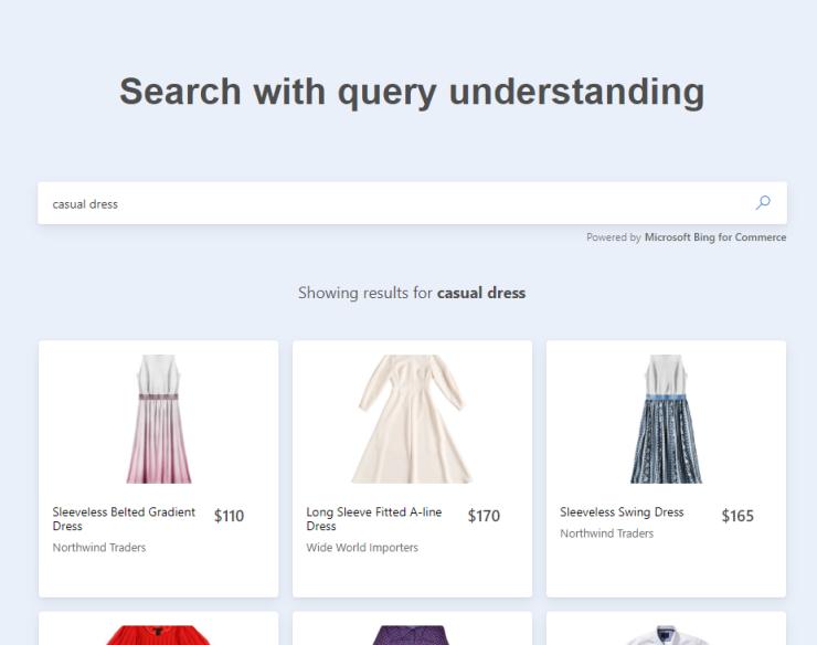Zoekresultaten met begrip van de zoekopdracht