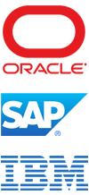 B2b-software van Oracle, SAP en IBM
