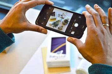 productfoto maken met je mobiel