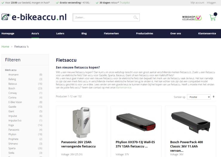 E-bikeaccu.nl