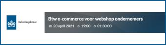 Btw e-commerce voor webshop ondernemers